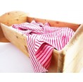 Rosy Baby Blanket & Swaddle Blanket of Organic Cotton