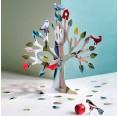 Totem Dream Tree of recycled cardboard | studio ROOF
