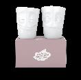 Porcelain Mug Set No. 2 Cheery & Baffled, white | 58 Products