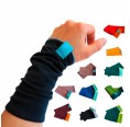 Eco Cotton Arm Warmers for girls & women, many colours | bingabonga