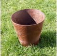 Brown Planter made of Meadow Grass | Biowert