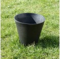 Grey Planter made of Meadow Grass | Biowert