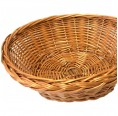 Round Bread Basket made of Willow