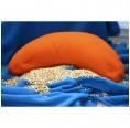 Ergonomic Seat Cushion Organic Millet Husks + Rubber
