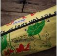 Upcycling Yoga Mat Bag – Yellow Fish