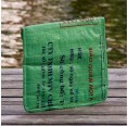 Green Fish upcycled iPad slipcase - back | Milchmeer