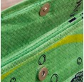 Green Fish upcycled iPad slipcase - push-button | Milchmeer