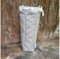 Bottle Bag made of Organic Cotton Camouflage
