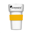 Heat Protection Cuff Yellow for Reusable Tree Cup