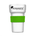 Heat Protection Cuff Green for Reusable Tree Cup