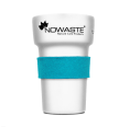 Heat Protection Cuff Turquoise for Reusable Tree Cup
