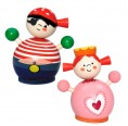 Wooden Money Box – Princess and Pirate | Hess Spielzeug