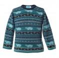 Children's Knit Pullover Polar Bear of Organic Wool