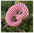 Crackling Pretzel »Mushroom« organic cotton grasping toy