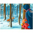 Picture Book Let's get closer: The Winter Forest in German