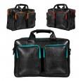 Mountain Panda Laptop Bag - vegan leather | Ecowings