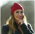 Women Beanie made of Organic Wool/Silk