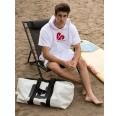 Men poncho OEKO-Tex terrycloth white | Beachbreak