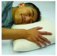 Pillow with Organic Spelt Husks & Rubber