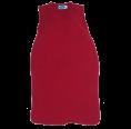 Sleeveless Baby Sleeping Bag of Eco Terrycloth - Burgundy | Reiff