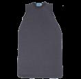 Sleeveless Baby Sleeping Bag of Eco Terrycloth - Stone | Reiff