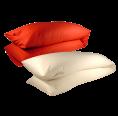 Side sleeper pillow organic spelt husks