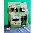 Cardboard House - Doll House MOBIL HOME