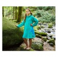 Girls dress of Bamboo terrycloth in Caribbean Blue | early fish