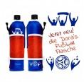 Soccer Bottle – Glass bottle with neoprene sleeve  | Dora's