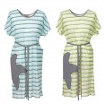 Striped Tunic & Organic Cotton Beach Dress | early fish