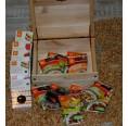 Vegan Sweets in FSC Wooden Box | Landgarten