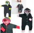 Eco Baby Jumpsuit of Merino Wool Fleece | Ulalue