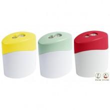 2-hole Sharpener – bioplastics – GREEN LINE