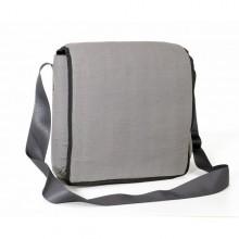 Shoulder Bag | Upcycling Messenger Bag | grey