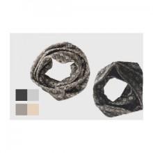 Round Scarf Kristall   Kerchief   merino wool