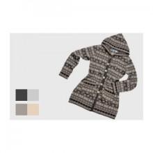 Hoodie Jacket Kristall Cardigan | merino wool