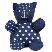 Stuffed toy | Bertrand the cat in organic cotton