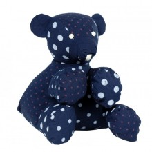 Stuffed toy | Henri the bear in organic cotton