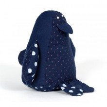 Cuddly Toy Penguin Bruno of Organic Cotton