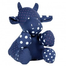 Stuffed toy | Jeanne the cow in organic cotton