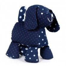 Stuffed toy | Doggy the dog in organic cotton