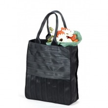 Véronique | black shopping bag | tote bag