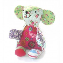 Stuffed toy | Emilie the mouse made of cotton