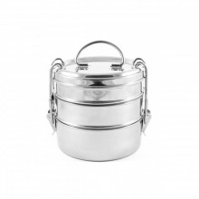 Tiffin Swing – Lunch Pail of Stainless Steel