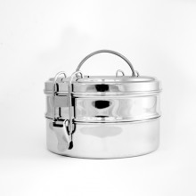 Tiffin Double XL Stainless Steel Lunch Pail