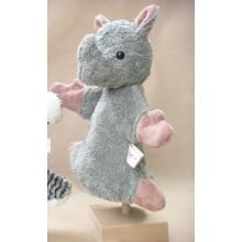 Glove Puppet Rhino with legs – vegan – Kallisto