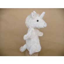 Glove Puppet Unicorn made of Organic Cotton