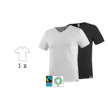 SoulShirt Men Eco T-Shirt, V-Neck, 1 Pack, kleiderhelden