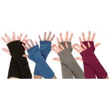 Eco Fleece Armwarmers made of Organic Merino virgin wool fleece