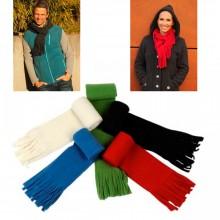 Unisex Fleece Scarf made of Eco Wool